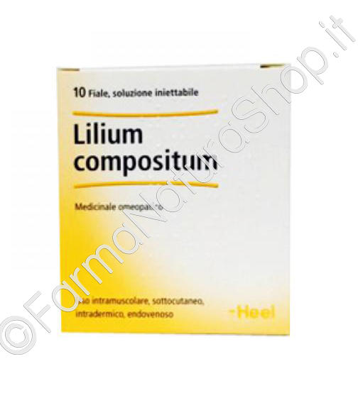 HEEL LILIUM COMPOSITUM Fiale