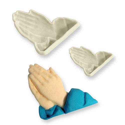 Cutter mani che pregano
