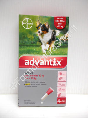 ADVANTIX Spot-On per cani dai 10 ai 25 kg