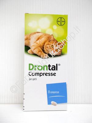 DRONTAL per GATTI 8 compresse