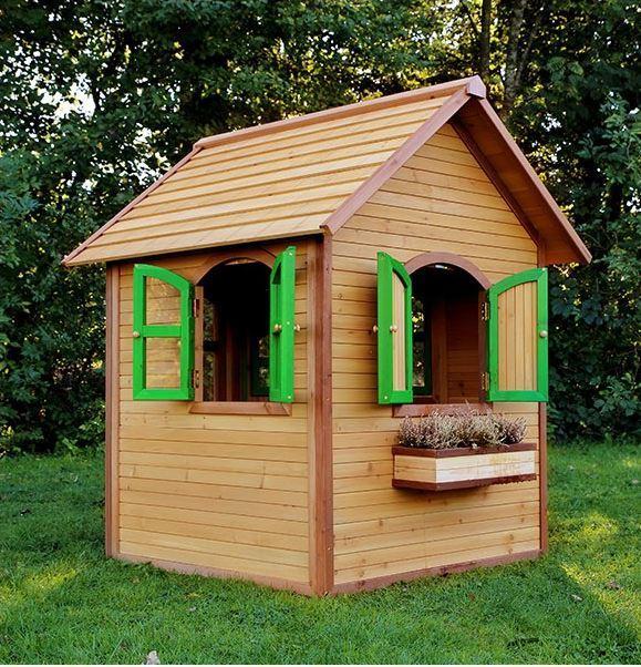 Casetta legno casetta bambini casetta bimbo casetta da for Casa legno bambini