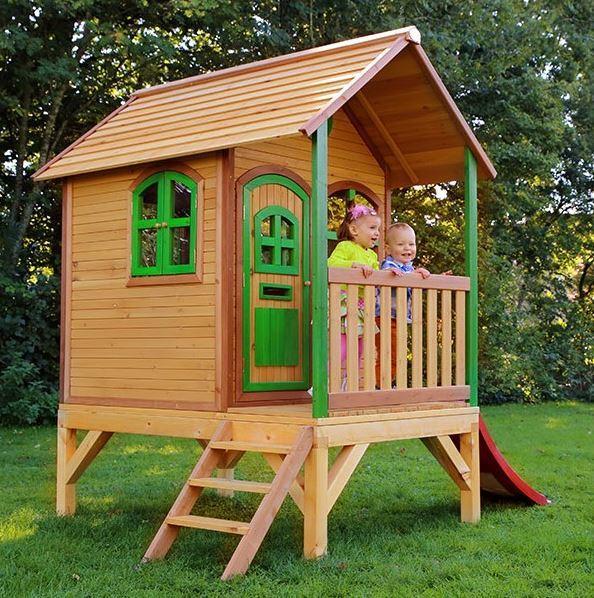 Casetta legno casetta bambini casetta con scala casetta for Amazon casette per bambini