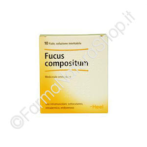 HEEL FUCUS COMPOSITUM Fiale