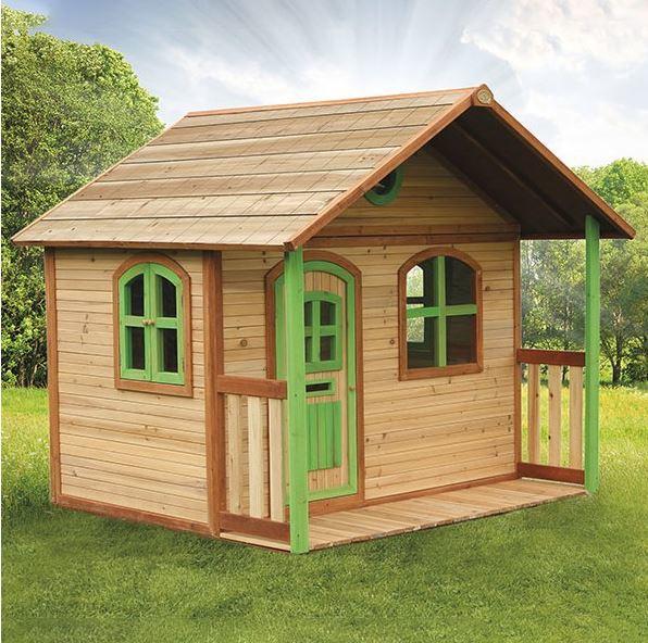 Casetta legno casetta bambini casetta bimbo casetta for Casetta con avvolgente portico