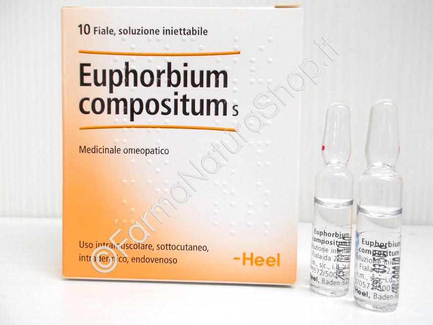 HEEL EUPHORBIUM COMPOSITUM Fiale