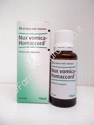 NUX VOMICA HOMACCORD HEEL