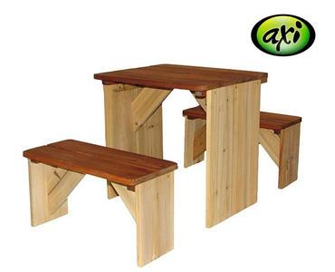 Tavolo da Picnic per Bambini con Panche ZicZed di Axi