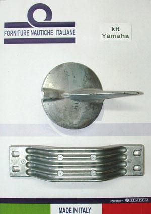 ANODI ALLUMINIO KIT YAMAHA 200-250 HP  - Offerta di Mondo Nautica 24