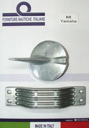 ANODI ALLUMINIO KIT YAMAHA 200-300 HP  - Offerta di Mondo Nautica 24