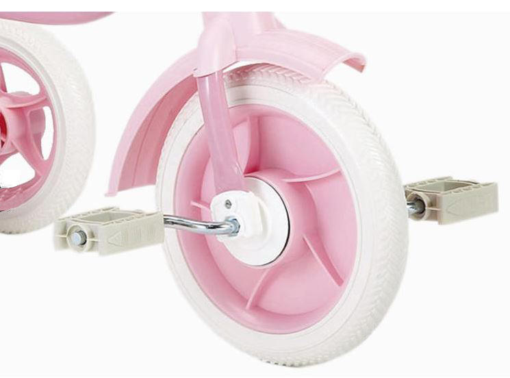"Triciclo per Bambini ""Super Touring Pink"" Classic Line di Italtrike - Made in Italy"