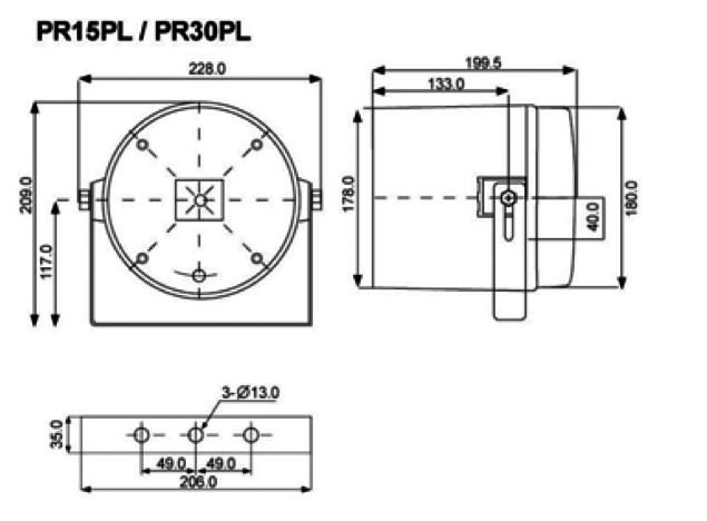 Proel PA PR30PL