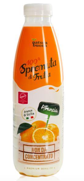 Spremuta 100% Natura buona Arancia 200ml conf. 12 pezzi