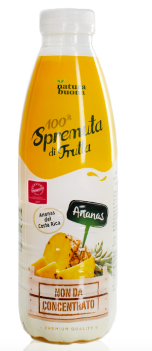 Spremuta 100% Natura buona Ananas 200ml conf. 12 pezzi