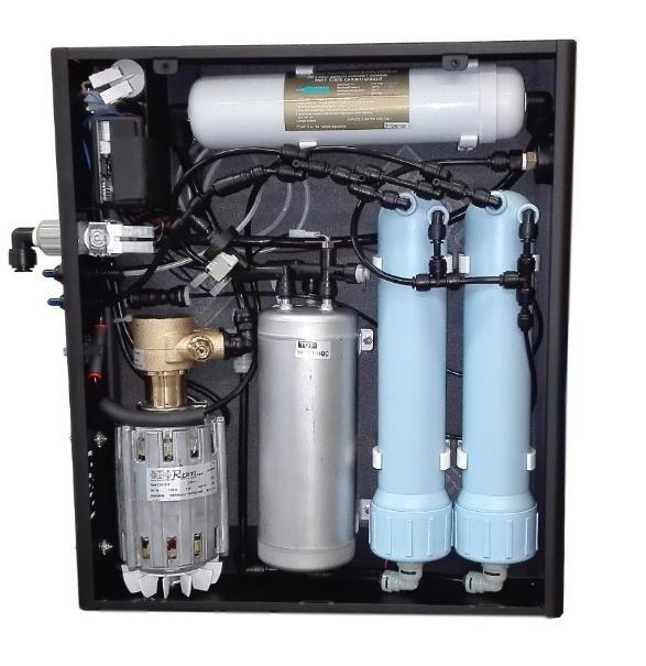 depuratore ad osmosi inversa ideale con gasatore