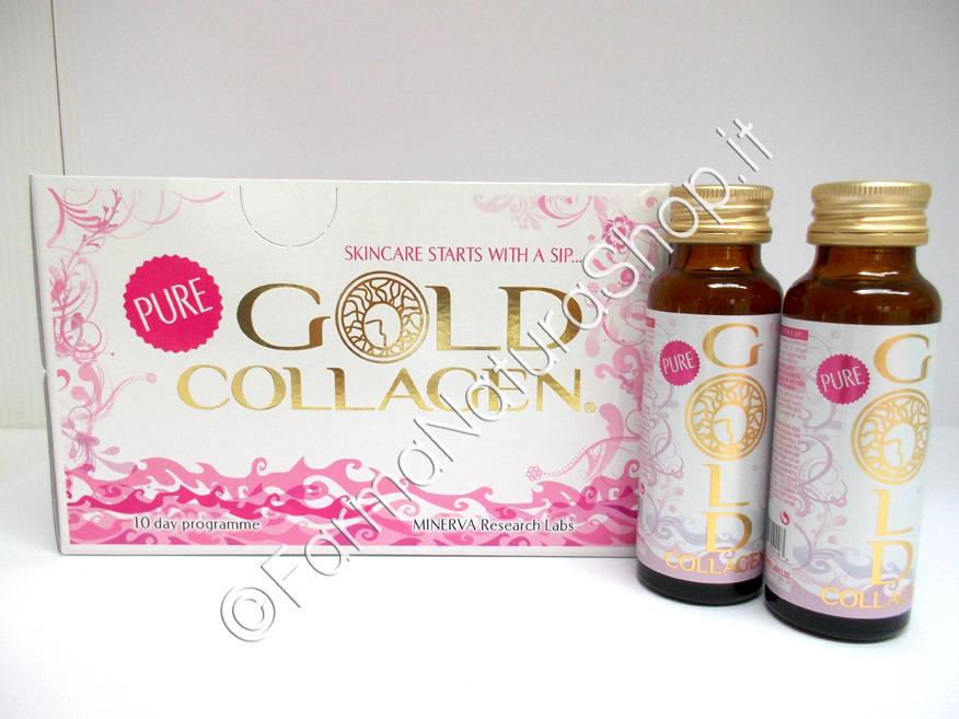 PURE GOLD COLLAGEN®  10 flaconi
