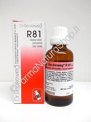 DR. RECKEWEG R81 Gocce