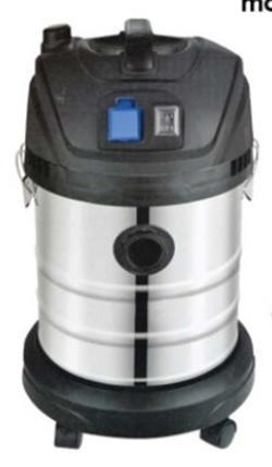 Idroaspiratore semiprofessionale YAMATO 1-4-30K SOLIDI E LIQUIDI LT 30 w1400 con accessori
