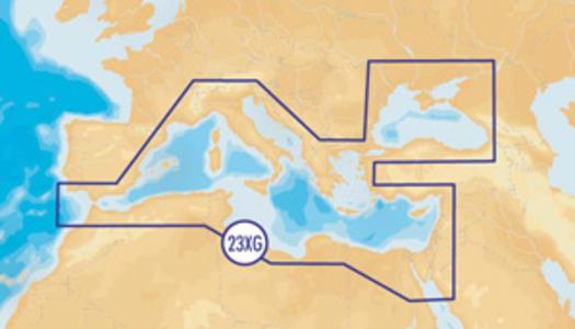 NAVIONICS CARTUCCIA 43XG MEDITERRANEO - Offerta da Mondo Nautica 24