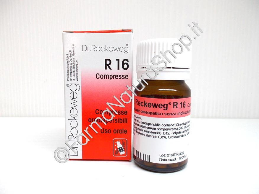 DR. RECKEWEG R16 Compresse
