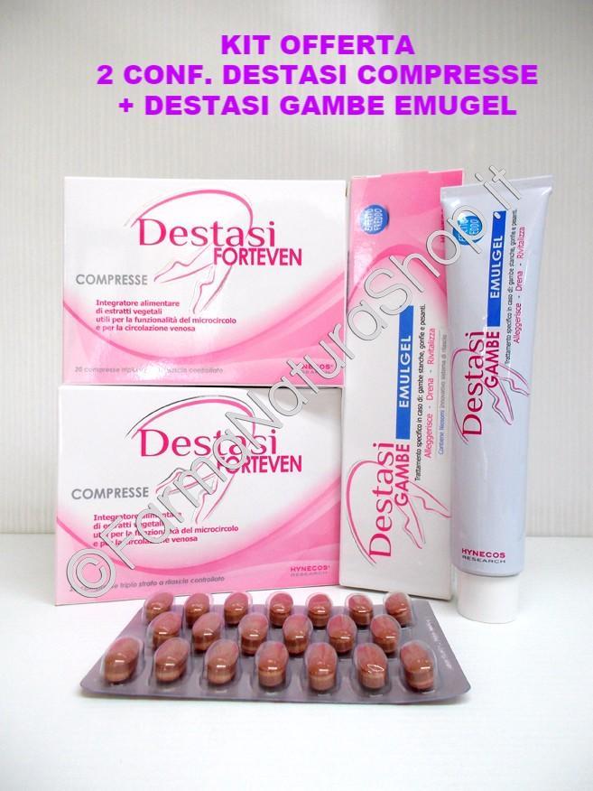 DESTASI VEN - Compresse + Spray *KIT OFFERTA*