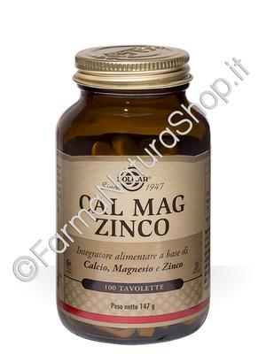 SOLGAR Cal-Mag-Zinco