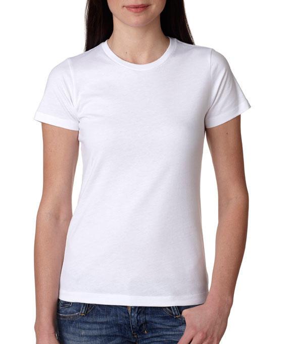 T-shirt Donna Bianca Personalizzata PPM224B