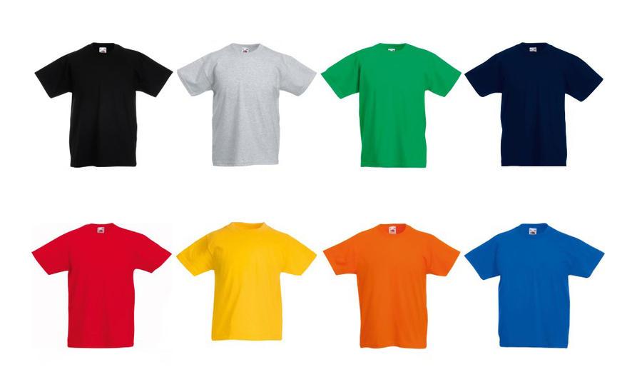 T-shirt Colorata Personalizzata PPM322