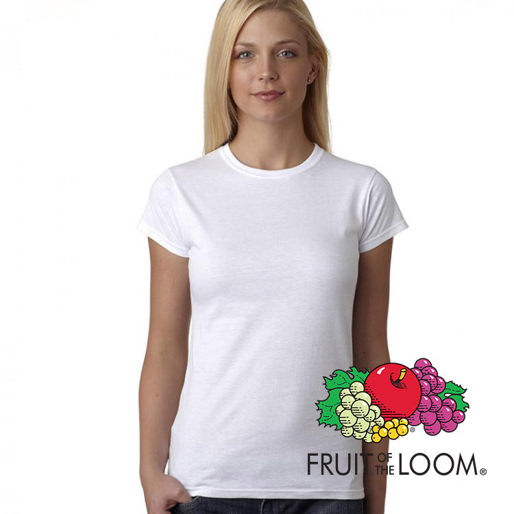 T-shirt Bianca Donna Personalizzata PFR614200B