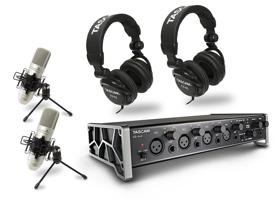 Tascam US-4x4 TrackPack
