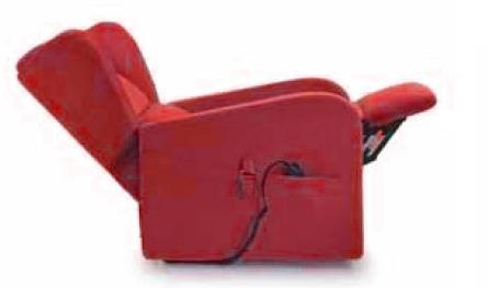 Poltrona Relax Luna Sfoderabile 2 Motori con Alzapersona e Kit Roller Tessuto Lavabile Rosso Bordeaux Consegna 48 ore PREZZO IVA AGEVOLATA 4% Prodotto Italiano