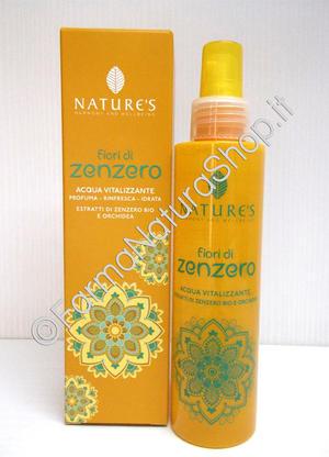 NATURE'S Fiori di Zenzero Acqua Vitalizzante