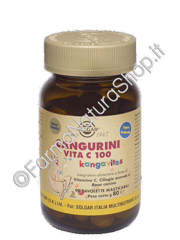 SOLGAR Cangurini Vita C 100 masticabili