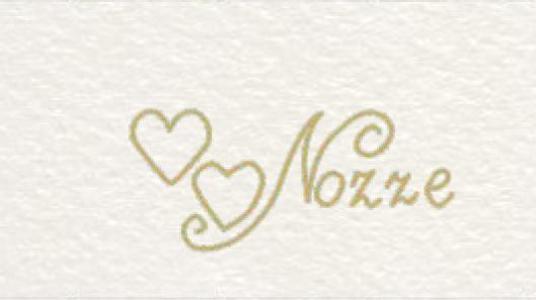 Set 5 biglietti bomboniera matrimonio personalizzato