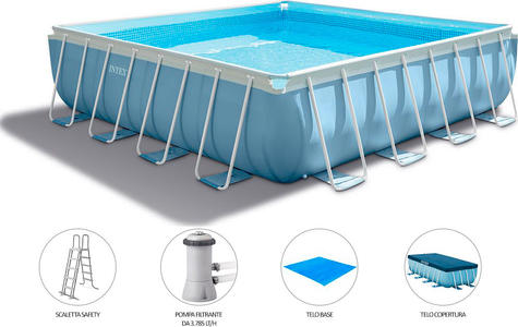 Piscine rettangolari intex for Piscine intex amazon