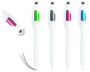 Penna Touch Multicolore Personalizzata PB11202 da 100 pz