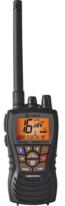 Radio VHF Portatile Galleggiante COBRA MARINE MR HH500 FLT BT EU - Offerta di Mondo Nautica 24