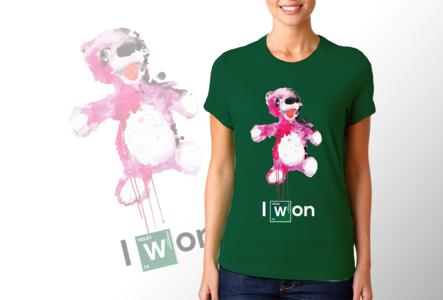 T-shirt Breaking Bad / Donna