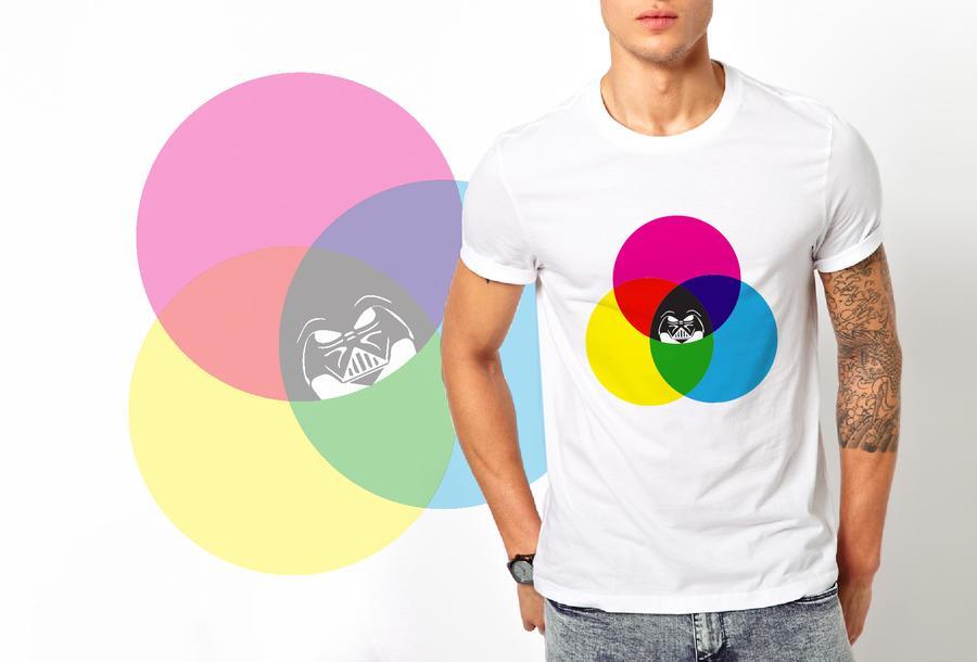T-shirt Dark Side / Uomo