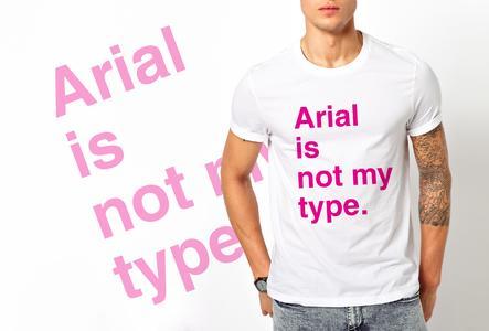 T-shirt Arial/Uomo
