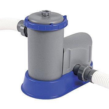Pompa a filtro per piscina Bestway 58389 Pompa a filtro Flowclear filtraggio da 5.678 l/h per piscine fuoriterra