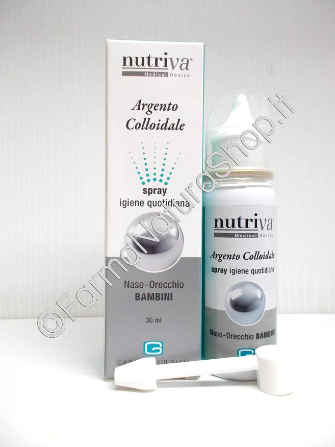 NUTRIVA ARGENTO COLLOIDALE Spray Bambini
