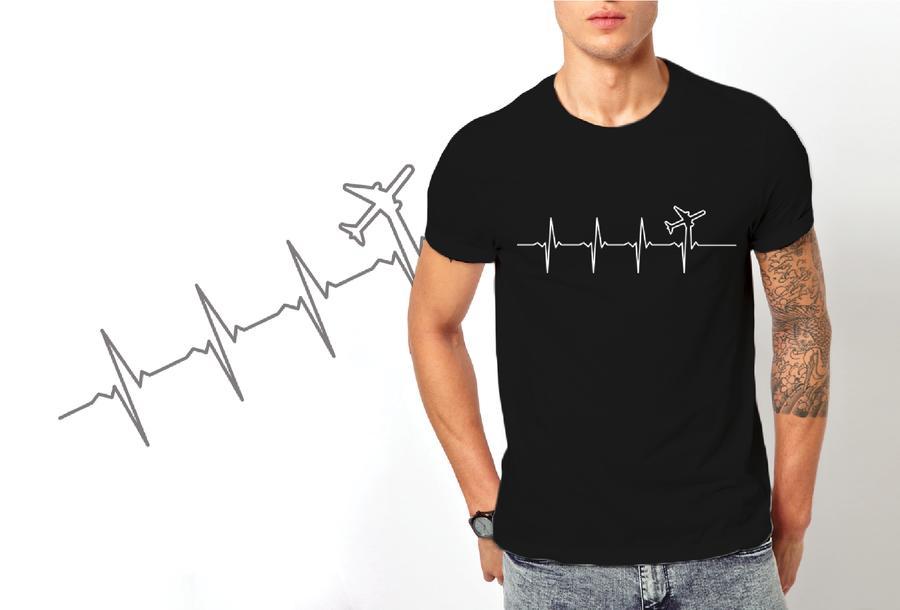 T-shirt Aereo/Uomo