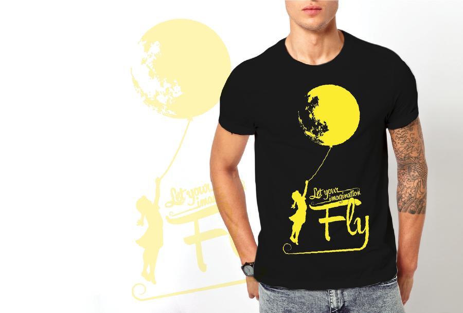 T-shirt luna/Uomo