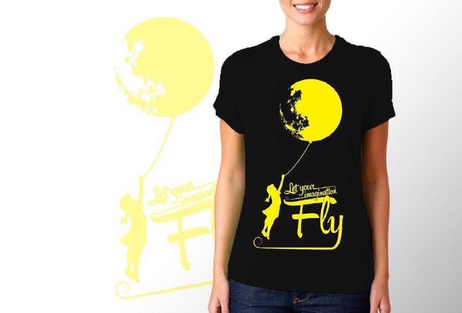 T-shirt luna/Donna