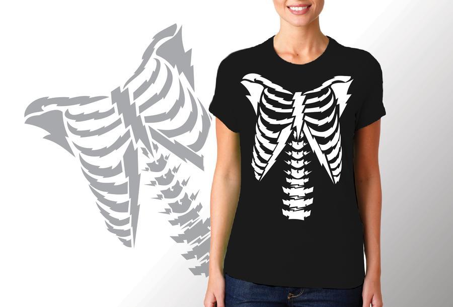 T-shirt cassa toracica/Donna