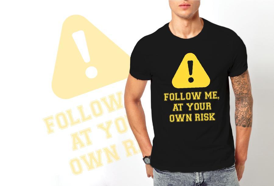 T-shirt Follow me/Uomo