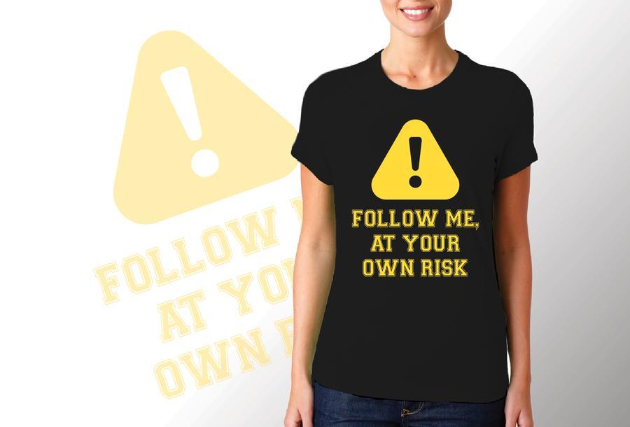 T-shirt Follow me/Donna