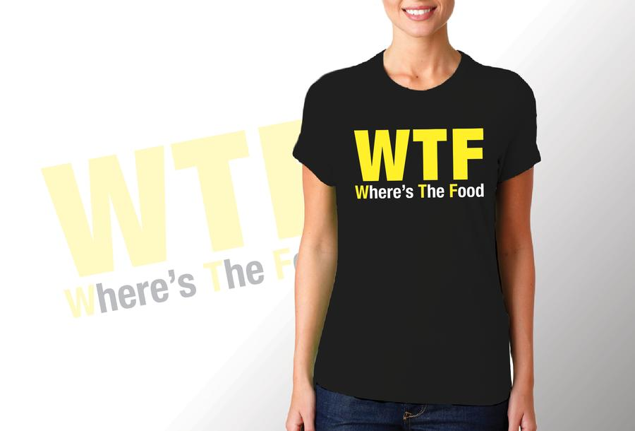 T-shirt WTF/Donna