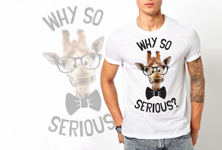 T-shirt Giraffa/Uomo