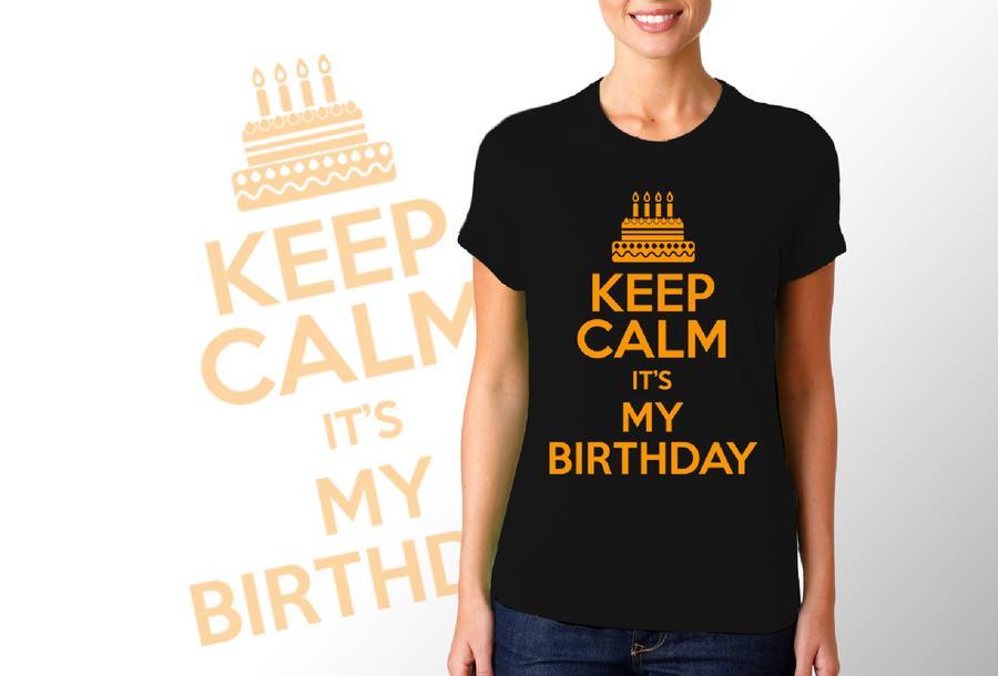 T-shirt per compleanno 3/Donna